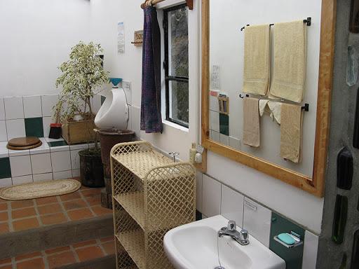 Hôtel Lodge Black Sheep Inn, Chugchilan, Equateur, salle de bain