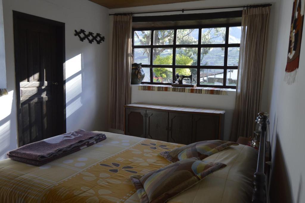 Auberge Posada de Tigua, près de la lagune Quilotoa, chambre