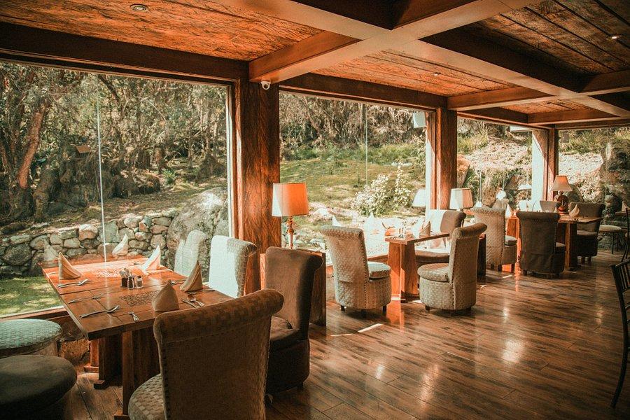 Hacienda Dos Chorreras, Parc Cajas, restaurant