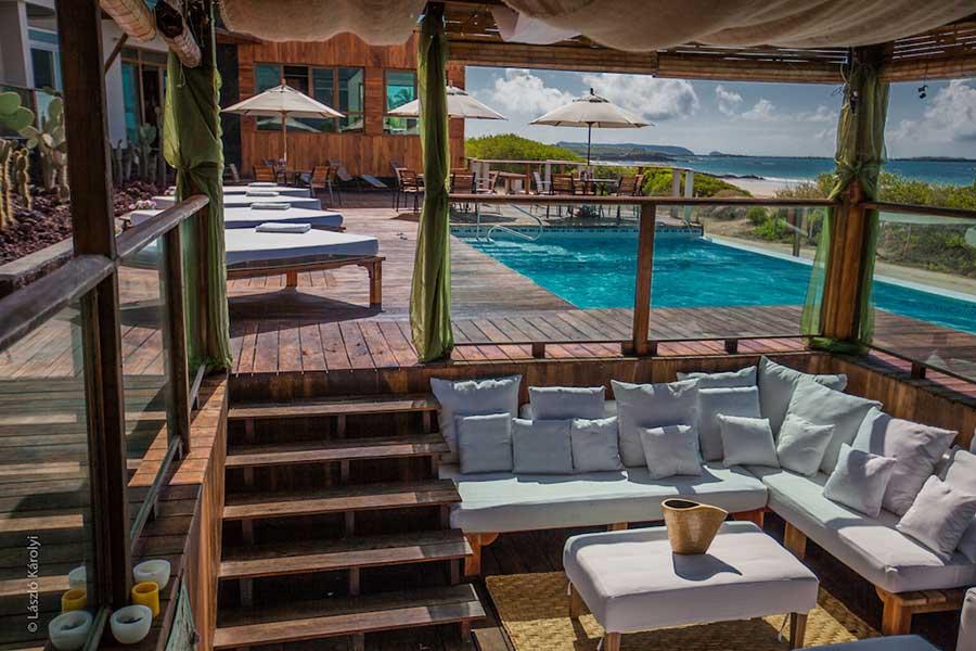 Hôtel Iguana Crossing aux Galapagos: détente