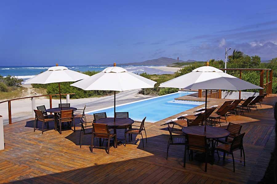 Hôtel Iguana Crossing aux Galapagos: piscine
