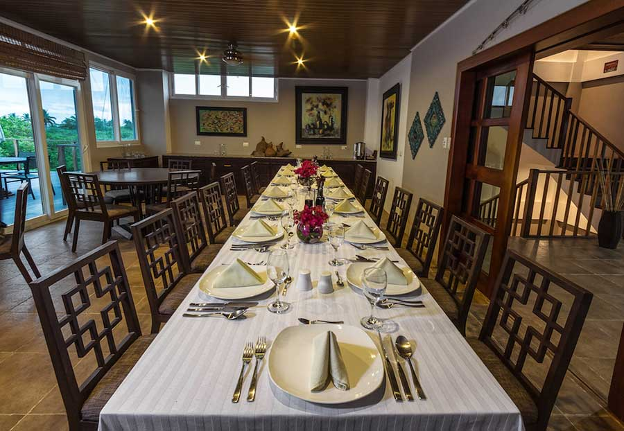 Hôtel Iguana Crossing aux Galapagos: restaurant