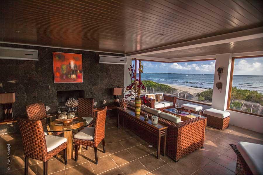 Hôtel Iguana Crossing aux Galapagos: salon