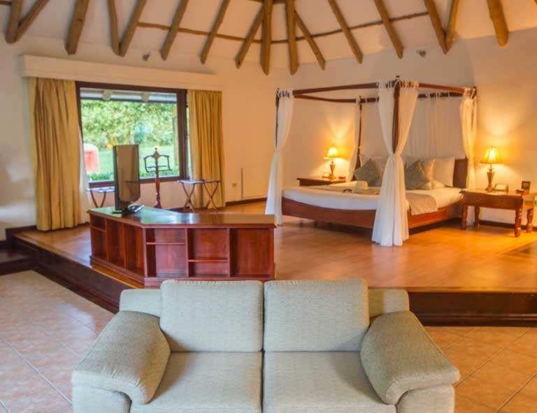 Royal Palm lodge aux Galapagos: Super villa