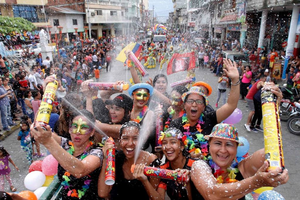 Le Carnaval, une superbe fête populaire à vivre en Équateur (crédit photo: El Universo)