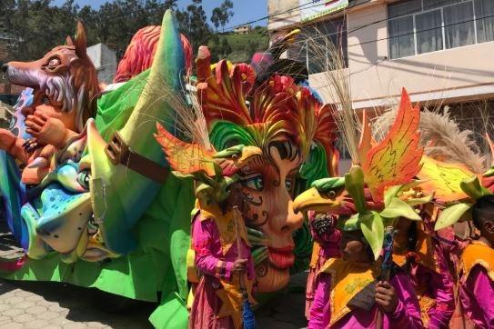 Le Carnaval de Guaranda en Ëquateur, un sublime évènement international! - Crédit photo: ViajandoX