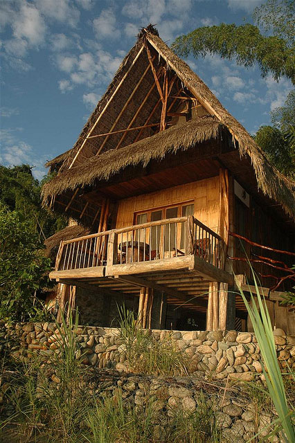 Cotococha Lodge, Equateur, cabane