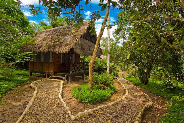 Cotococha Lodge, Equateur: cabane