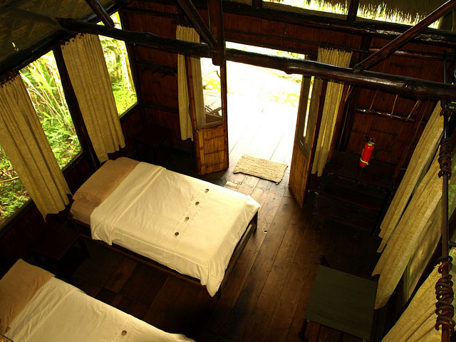 Cotococha Lodge, Equateur, chambre double