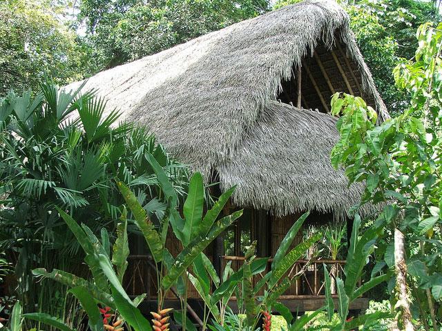 Cotococha Lodge, Equateur, extérieur