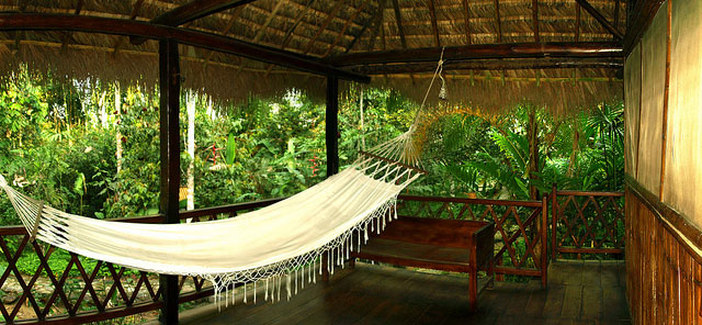 Cotococha Lodge, Equateur, hamac