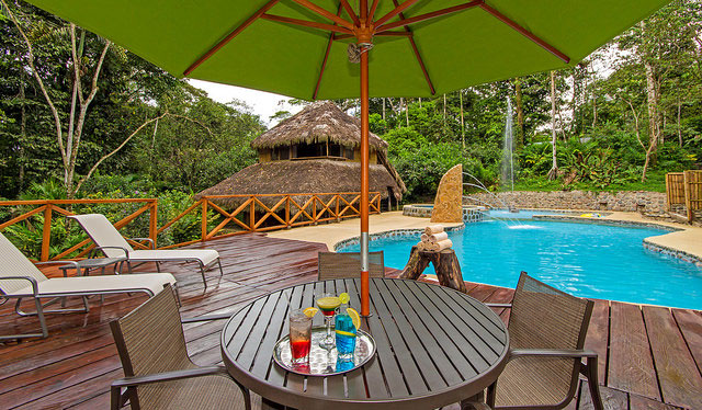 Cotococha Lodge, Equateur, piscine