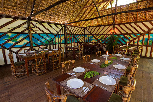 Cotococha Lodge, Equateur, restaurant