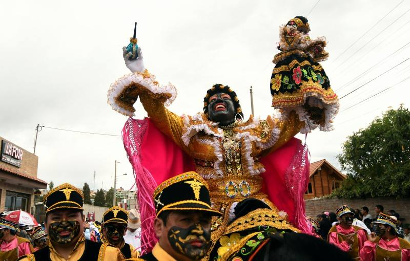 Festival de la Mama Negra à Latacunga, Équateur (crédit photo: El Universo)