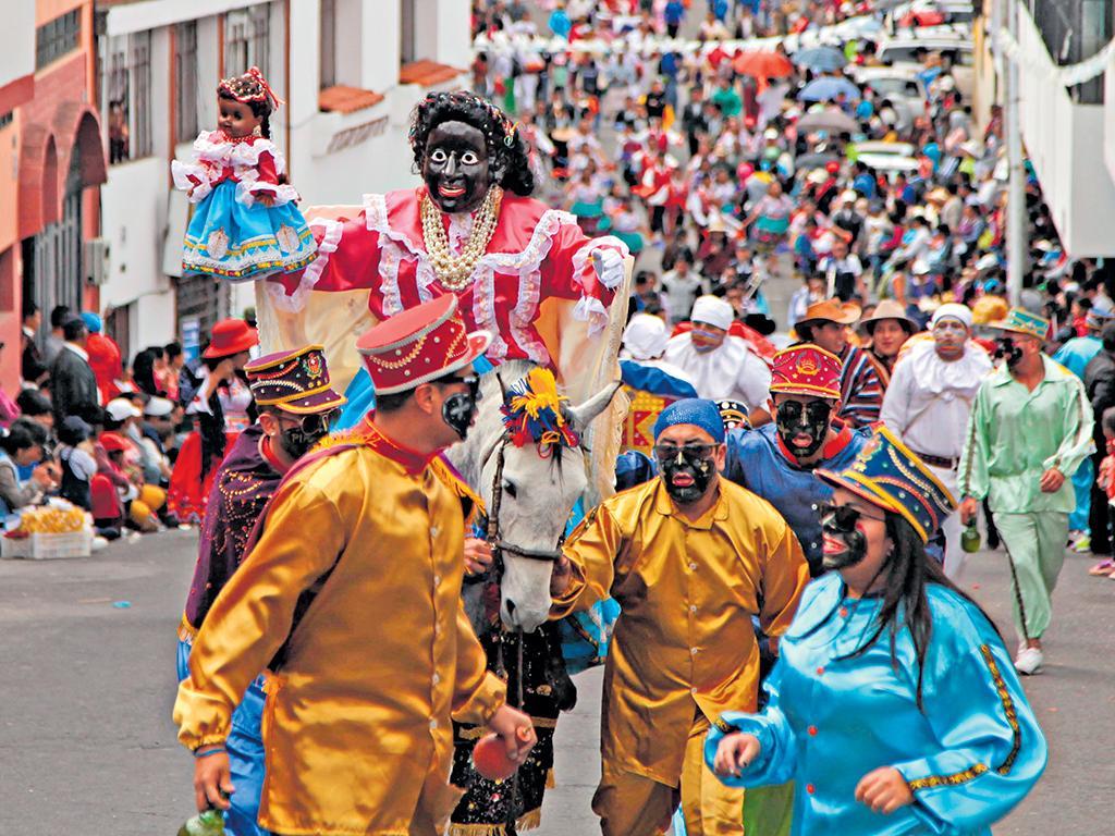 Festival de la Mama Negra à Latacunga, Équateur (crédit photo: El Diario))