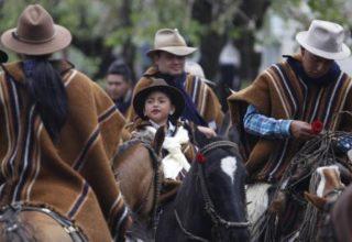 Fête du Tourisme et du maïs et défilé de chagras à Sangolqui, Équateur (crédit photo : El Comercio)