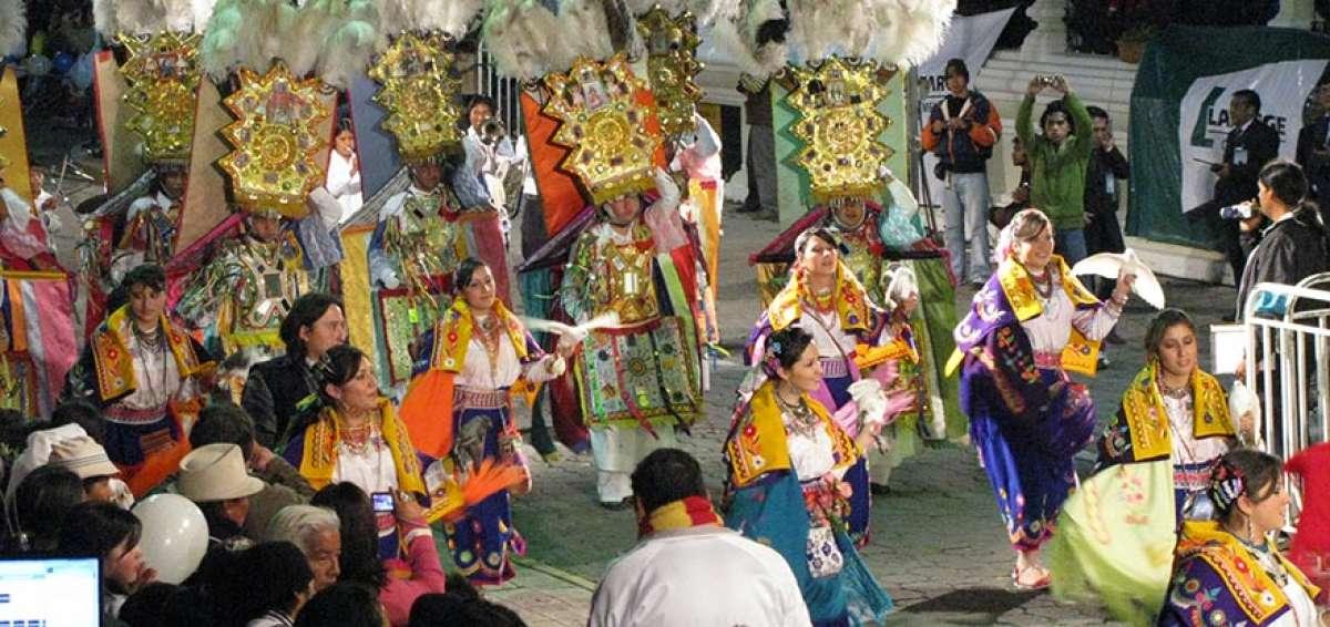 Fête du Yamor à Otavalo, Équateur (crédit photo : El Telégrafo