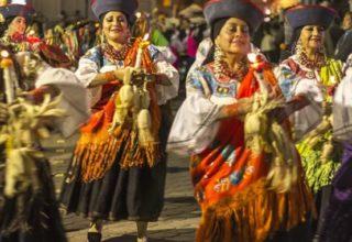 Fête du Yamor à Otavalo, Équateur (crédit photo : La República EC)