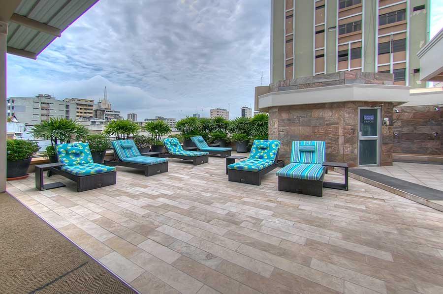 Grand Hotel Guayaquil, terrasse