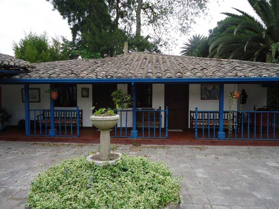 Hacienda Chorlavi, Ibarra, façade