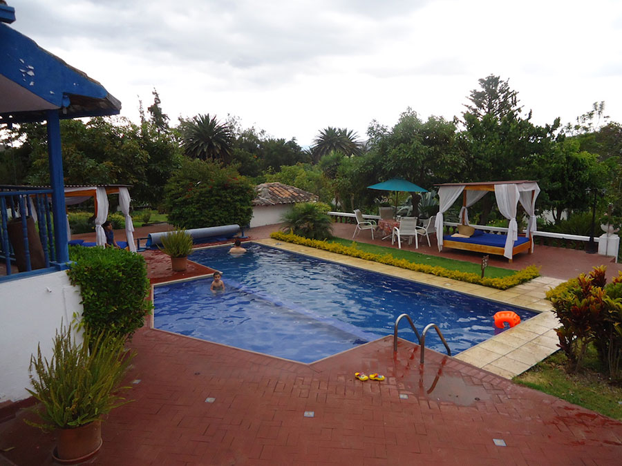 Hacienda Chorlavi, Ibarra, piscine
