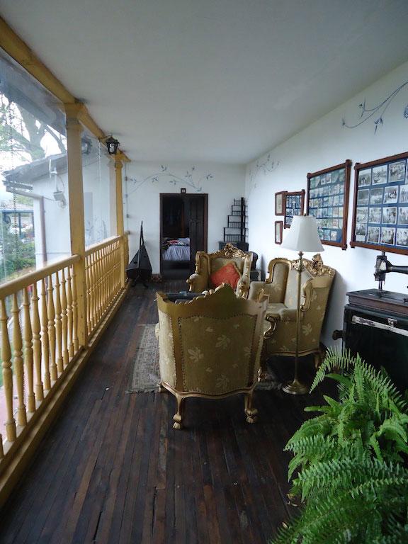 Hacienda Chorlavi, Ibarra, salon