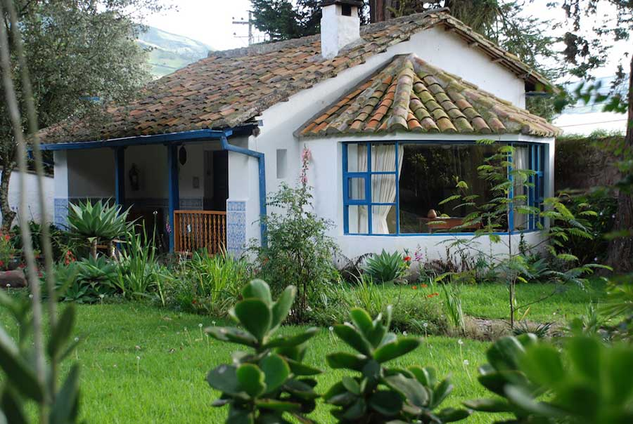 Hacienda Cusin, Otavalo, cabane