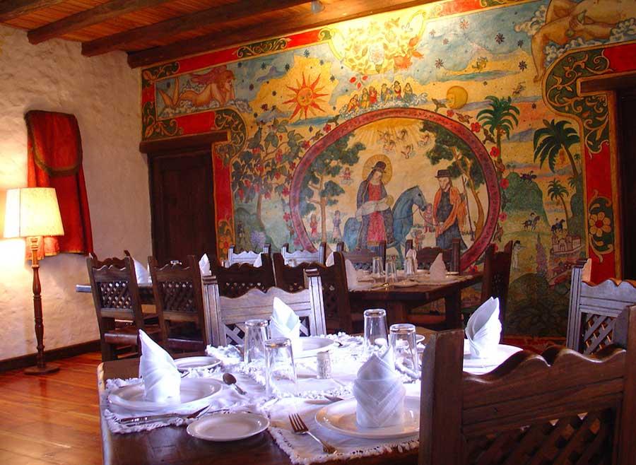 Hacienda Cusin, Otavalo, restaurant