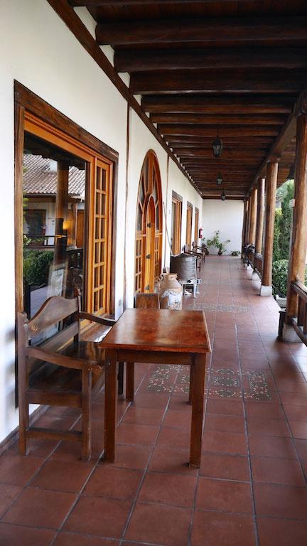 Hacienda Leito, Baños, couloir