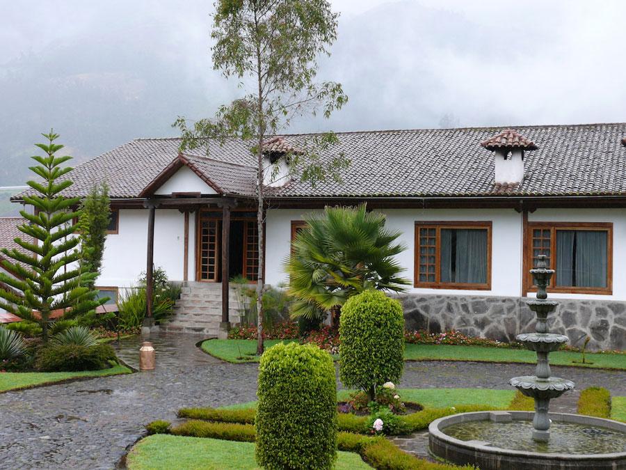 Hacienda Leito, Baños, entrée