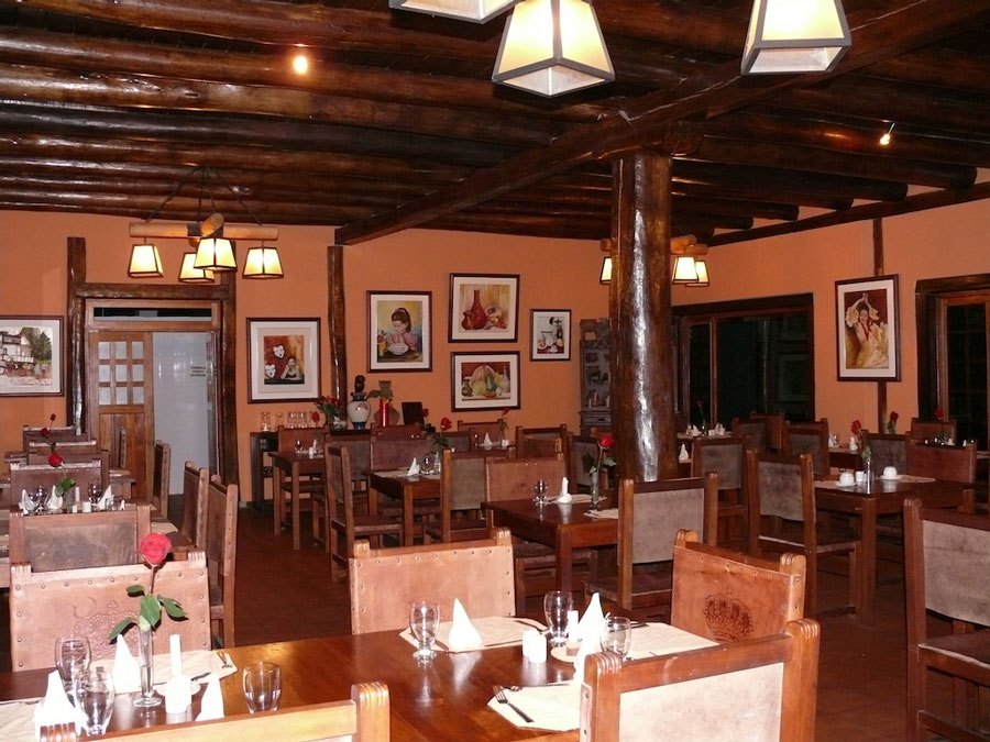 Hacienda Leito, Baños, restaurant