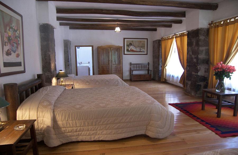 Hacienda Leito, Baños, suite