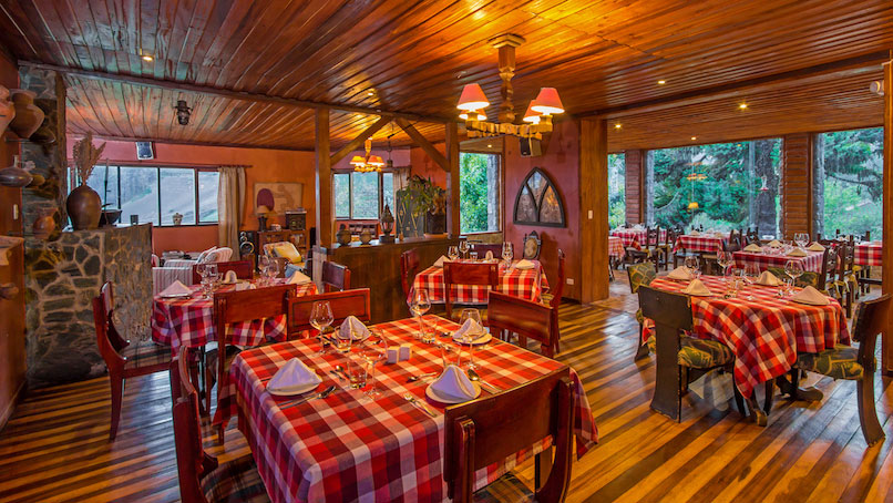 Hacienda Manteles, Baños, restaurant