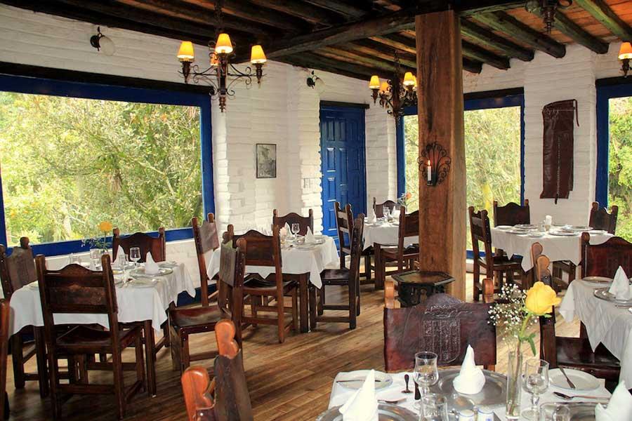 Hacienda Pinsaqui, Otavalo, restaurant