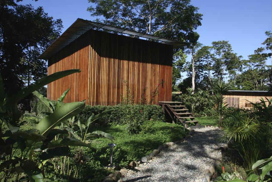 Hamadryade Lodge, Equateur, cabane