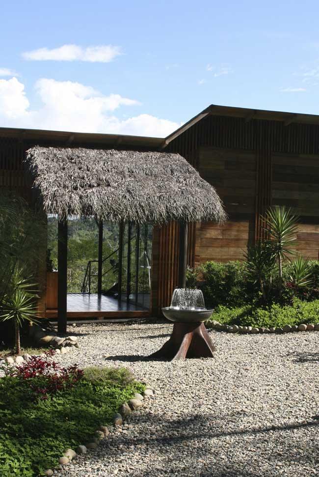 Hamadryade Lodge, Equateur, entrée