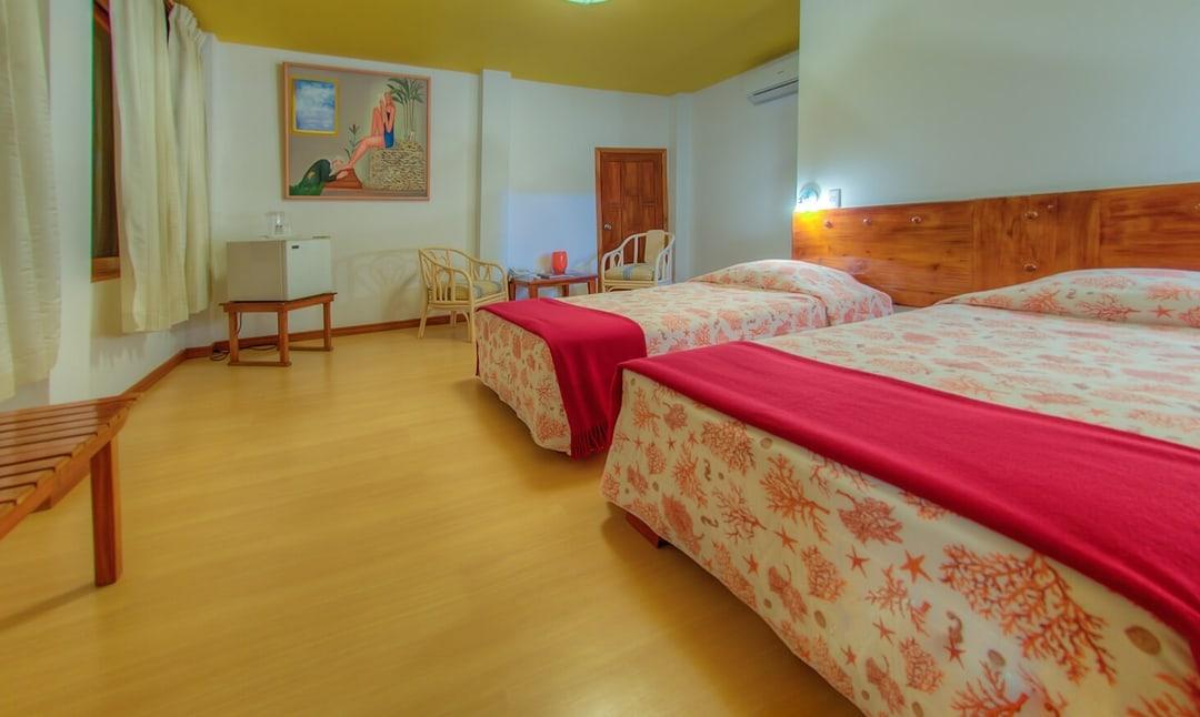 Hôtel Casa de Marita, îles Galapagos, chambre jardin