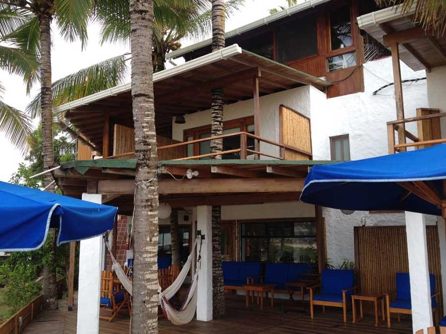 Hôtel Casa de Marita, îles Galapagos, extérieur
