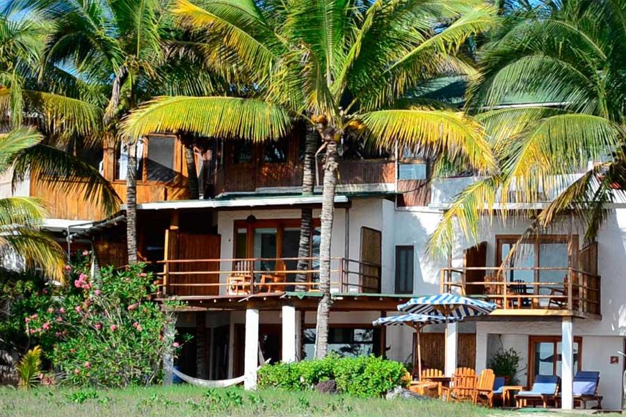 Hôtel Casa de Marita, îles Galapagos, façade
