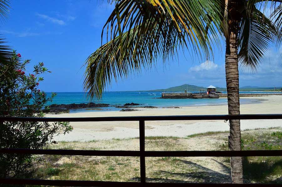 Hôtel Casa de Marita, îles Galapagos, plage