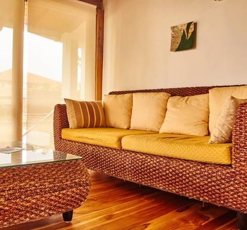 Hôtel Casa de Marita, îles Galapagos, salon de la suite