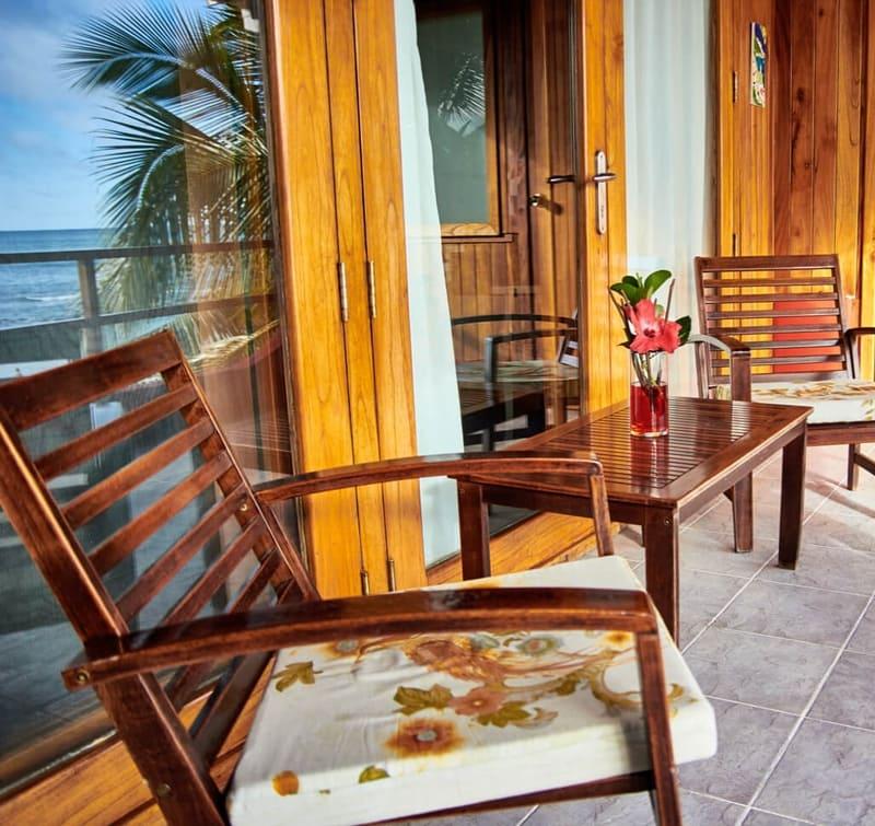Hôtel Casa de Marita, îles Galapagos, balcon suite