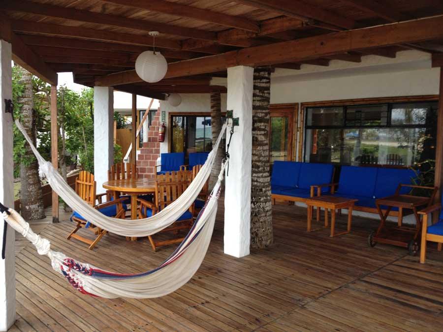 Hôtel Casa de Marita, îles Galapagos, terrasse