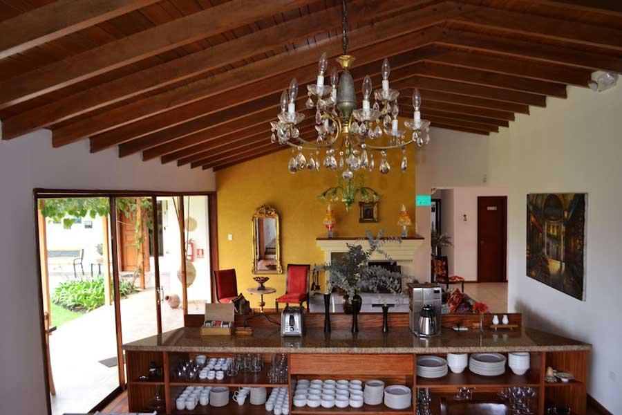 Auberge Casa del Viajero, Quito, intérieur
