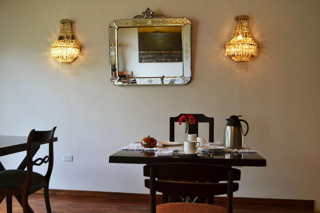 Auberge Casa del Viajero, Quito, petit déjeuner