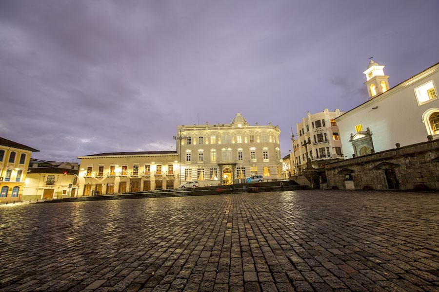 Hôtel Casa Gangotena, Quito, façade