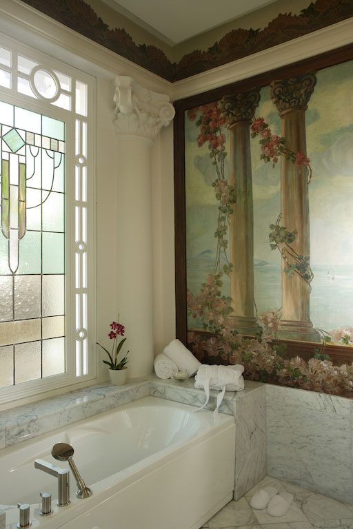 Hôtel Casa Gangotena, Quito, salle de bain