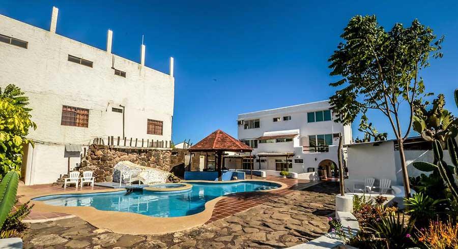 Hôtel Casa Opuntia, îles Galapagos, Piscine