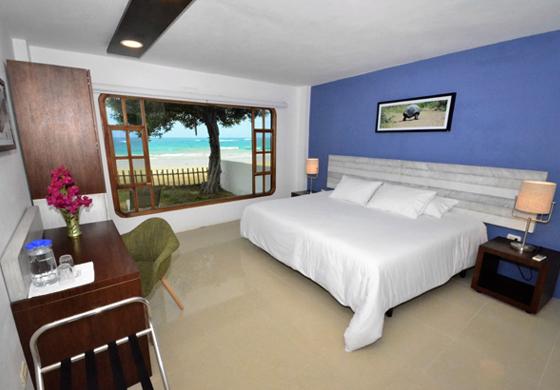 îles Galapagos: hôtel Casita de la Playa, chambre supérieure