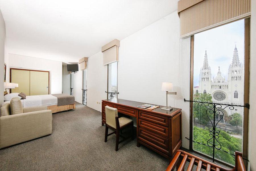 Hôtel Continental, Guayaquil, chambre simple